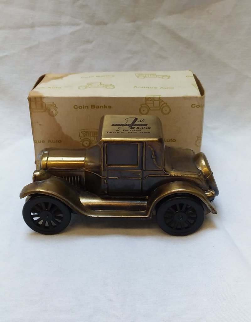 "1926 Pontiac Coin Bank, 6"", 1970's"
