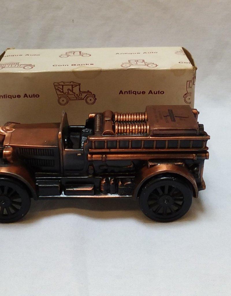 """1924 Ahrens-Fox Pumper Coin Bank, 6.25"""", 1974"""