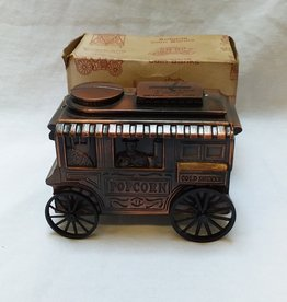 "Popcorn Wagon Coin Bank, 5"", 1974"