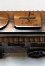 """Popcorn Wagon Coin Bank, 5"""", 1974"""