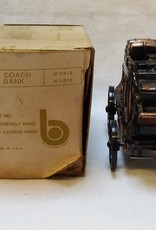 "Stage Coach Coin Bank, 5"", 1970's"