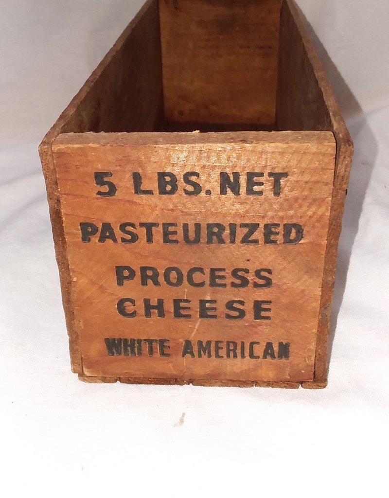 """Arpeako Process Cheese Box, 5#, 11.5""""x4""""x4"""", c.1950"""