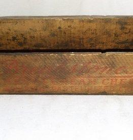 """Breakstone Pimento Cream Cheese Box, 3#, 10.75""""x3.5""""x3"""", c.1950"""