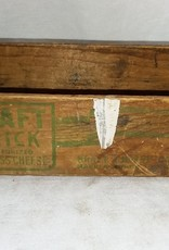 Kraft Brick Cheese Box, 2#, c.1950