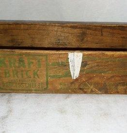 Kraft Brick Cheese Box, 2#, c.1950