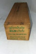 """Glenbdale Club Cheese Box, 2"""", c.1950"""