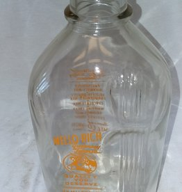 Mello-Rich Guernsey Farms Milk Bottle, 1/2 Gallon, 1960's