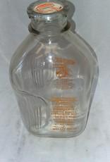 Mello-Rich Guernsey Farms Milk Bottle, 1/2 Gallon, 1960's