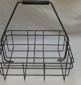 4 Compartment 1/2 Gal. Milk Bottle Carrier, 1950's