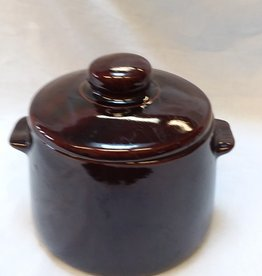 "West Bend Bean Pot w/Cover, 6"", 1970's"
