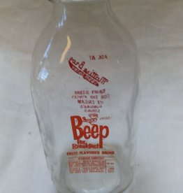 Beep Fruit Flavored Drink Bottle, 1 Qt., 1963