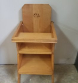 Wooden Doll High Chair, Community Playthings, c. 1970's, 28'' Tall
