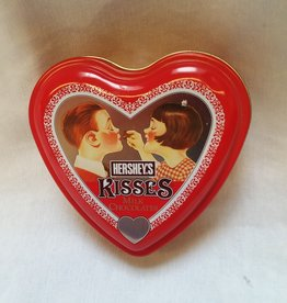 "Hershey's Kiss Heart-Shaped Tin, 4 7/8"", 2001"