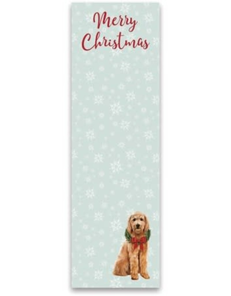 List Notepad - Goldendoodle