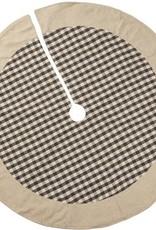 Tree Skirt- Gray Plaid