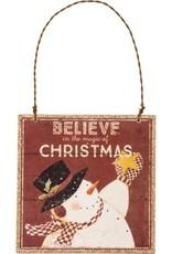XMas Ornament - Believe in the Magic
