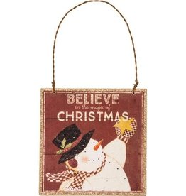 XMas Ornament - Believe in the Magic