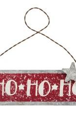 Xmas Ornament - HO HO HO