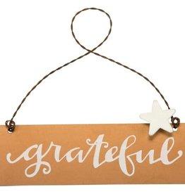 Grateful Ornament