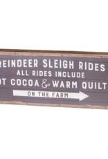 Box Sign - Sleigh Rides