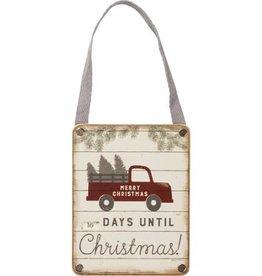 Small Christmas Countdown Wheel