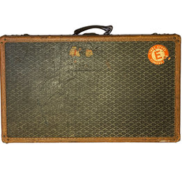 Goyard Rare Early 1900's Maison Goyard Suitcase