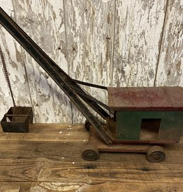 Structo Pressed Steel Clam Shell Digger, c. 1918