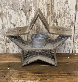 Wood Star Planter Porch Hanger Arrow Replacement