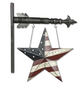 Americana Star Tin Porch Hanger Arrow Replacement
