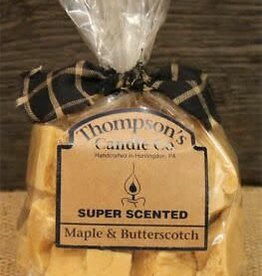 Thompson's Candle Company Maple & Butterscotch Crumbles, 6 Ounce, USA Made