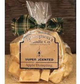 Thompson's Candle Company Apple Dumpling Crumbles, 6 oz., Made in USA