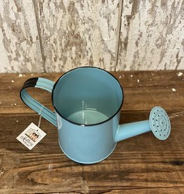 Watering Can Aqua Blue