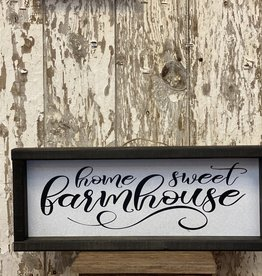 "7""x18"" ""Home Sweet Farmhouse"" Wood Sign"