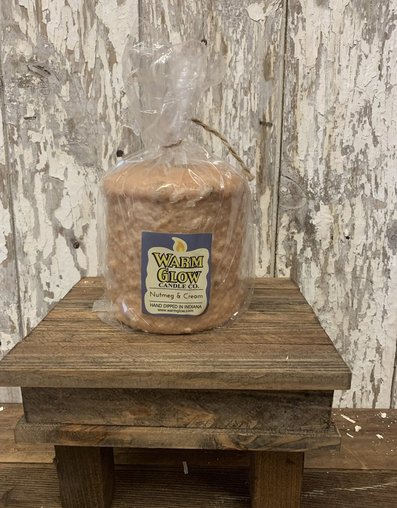 Warm Glow Hearth - Nutmeg & Cream