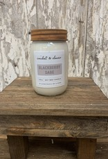 C & C - Blackberry Sage Soy Wax Candle