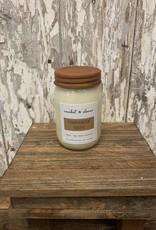 C & C - Cinnamon Bark Soy Wax Candle