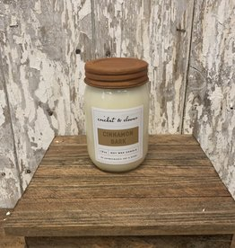 C & C - Cinnamon Bark Soy Wax Candle