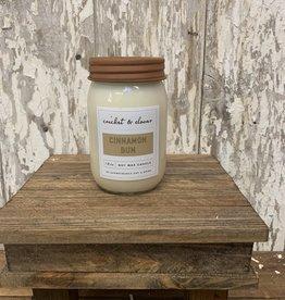 C & C - Cinnamon Bun Soy Wax Candle