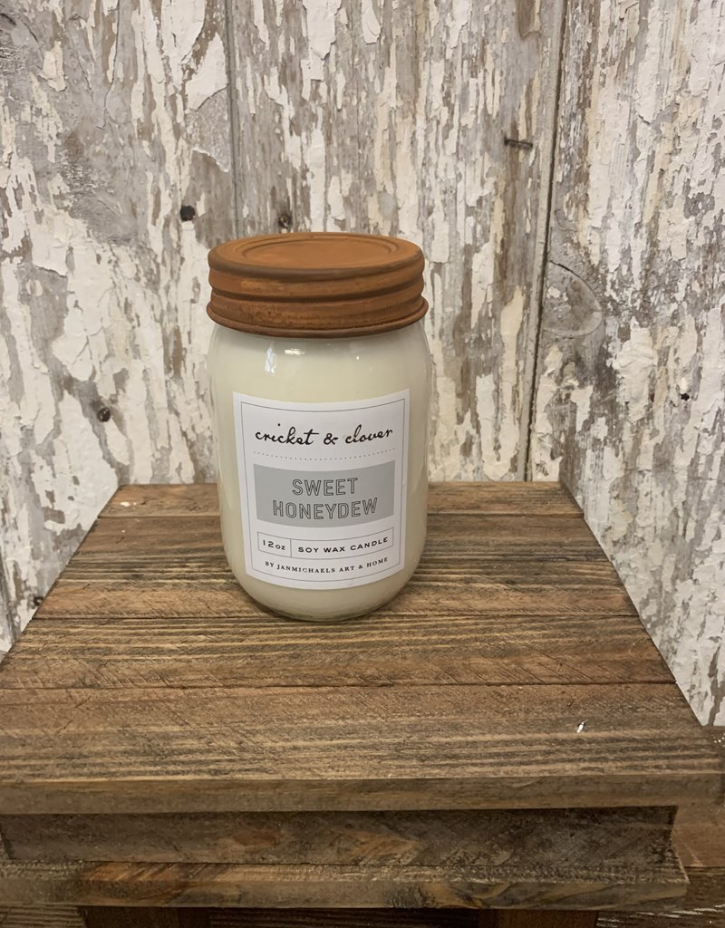 C & C - Sweet Honeydew Soy Wax Candle