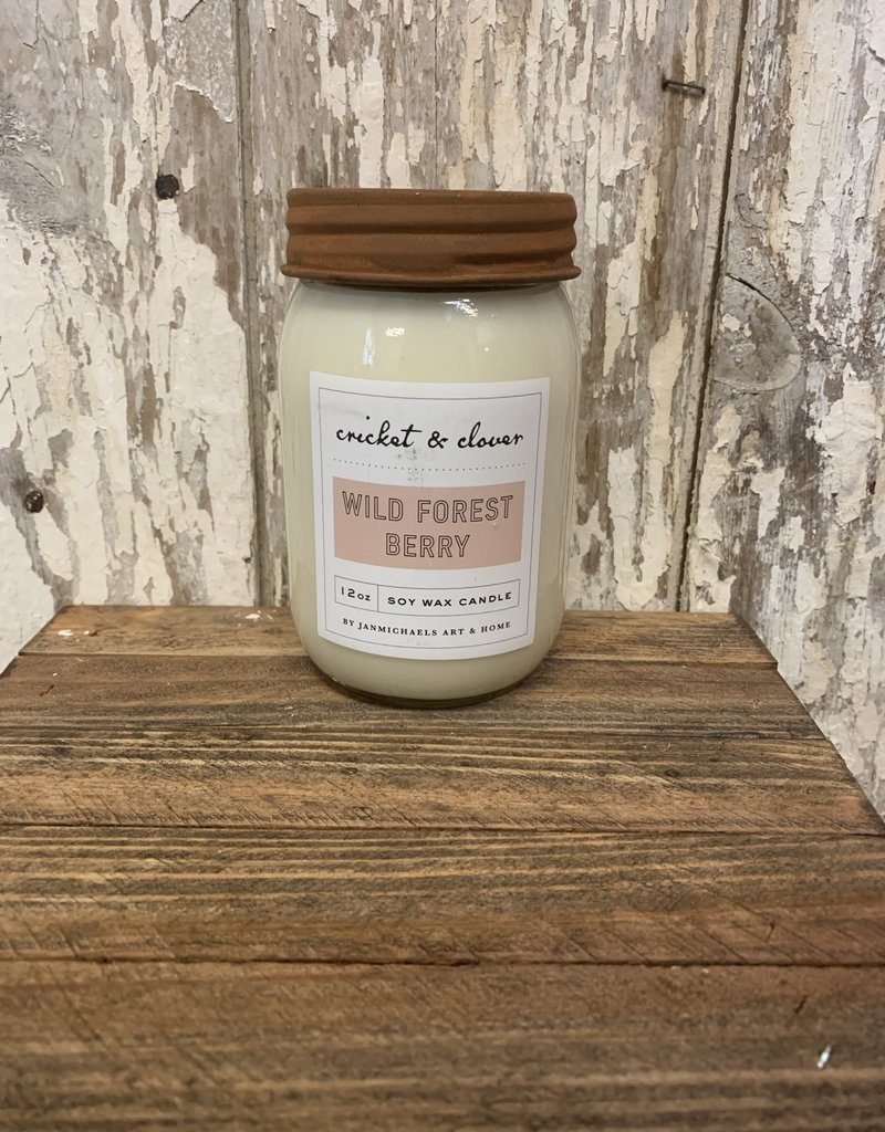 C & C - Wild Forest Berry Soy Wax Candle