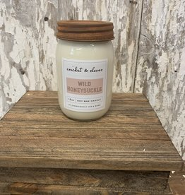 C & C - Wild Honeysuckle soy wax candle