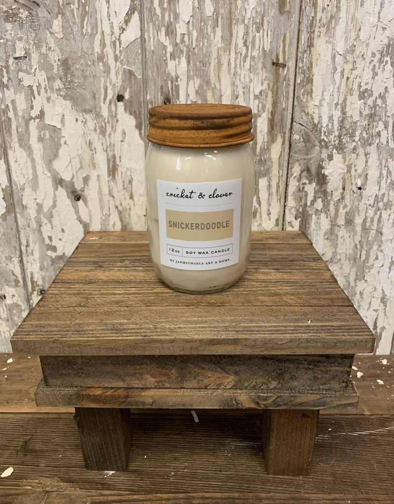 C & C - Snickerdoodle Soy Wax Candle