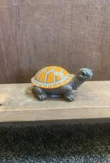 "Orange Poly Turtle 5.5"""