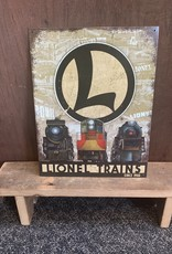 "Lionel Train Since 1900 Tin Sign 12.5""x16"""
