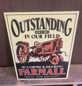 "Outstanding Farmall Tin Sign 12.5""x16"""