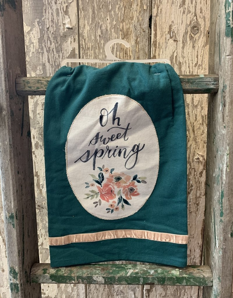 Primitives by Kathy Dish Towel - Oh Sweet Spring