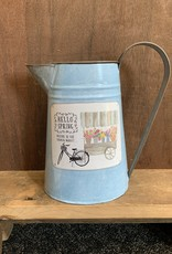 Hello Spring Watering Can ( Teal )