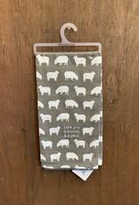 Love You a Bushel and a Peck Dish Towel (Sheep)
