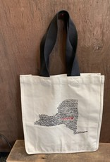 New York State Canvas Tote bag