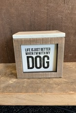 Words of Wisdom from the Dog  (Box of 80 Cards)